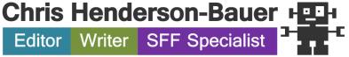 Editor | Writer | SFF Specialist